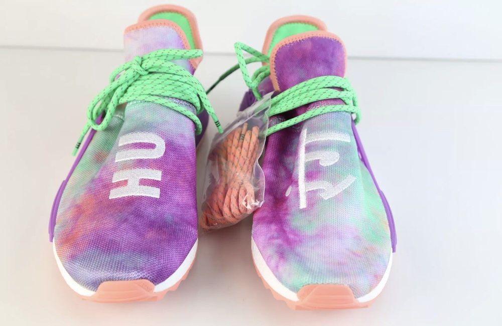 best service 7aa8c 79c63 eBay  Sponsored Adidas Pharrell Human Race Holi Coral Size 12 NMD VNDS