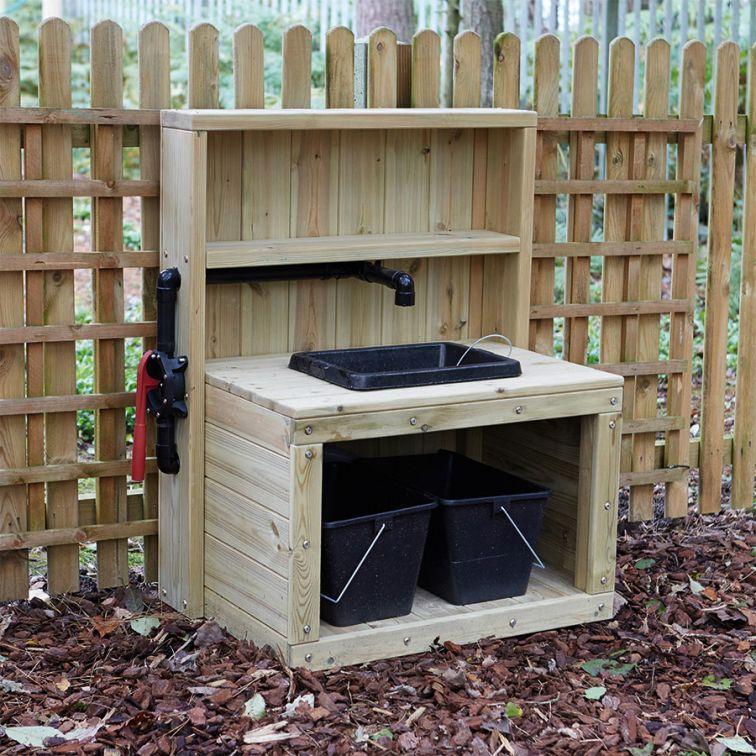 Garden Sink Uk #8 Outdoor Wooden Sink With Pump Small ...