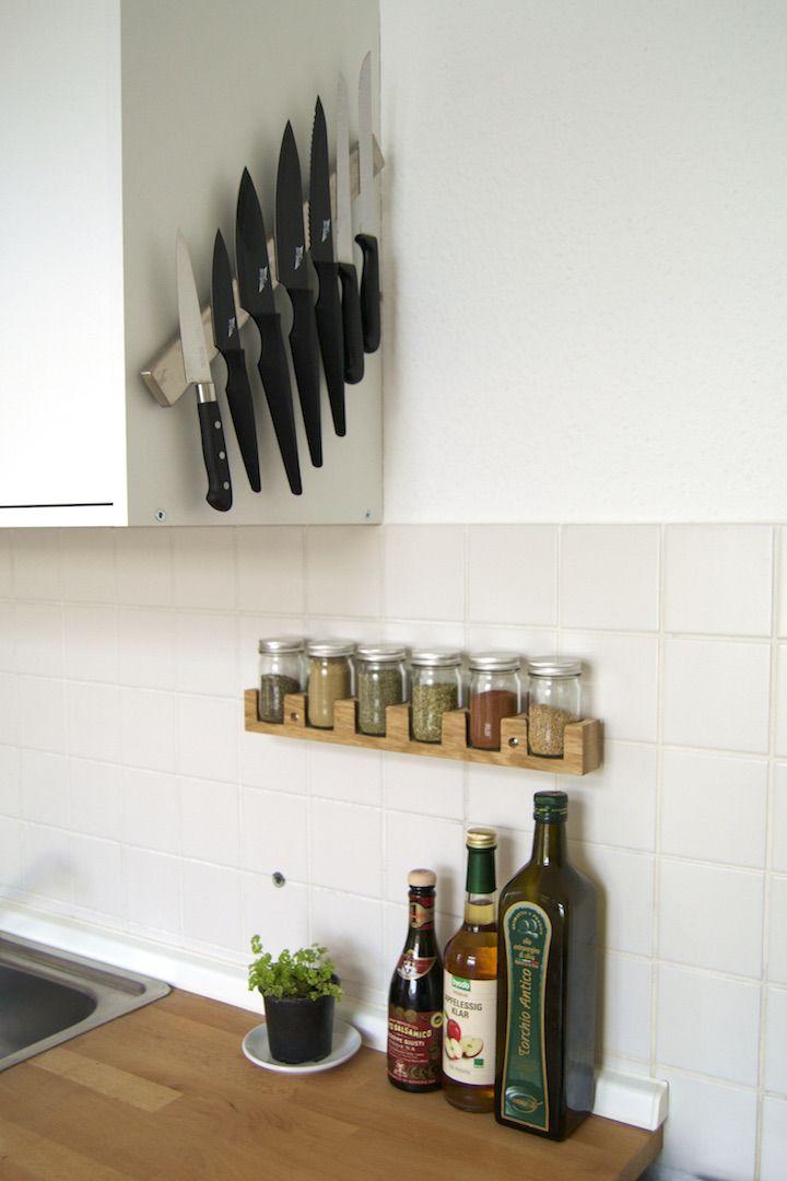 at least - Kleine Räume einrichten 5 Tricks für die Mini-Küche - küchen für kleine räume