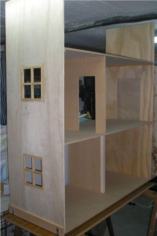 Maison pour barbie petit tuto et autres tout pour poupee pinterest barbie tuto et - Maison de poupee en bois a construire ...