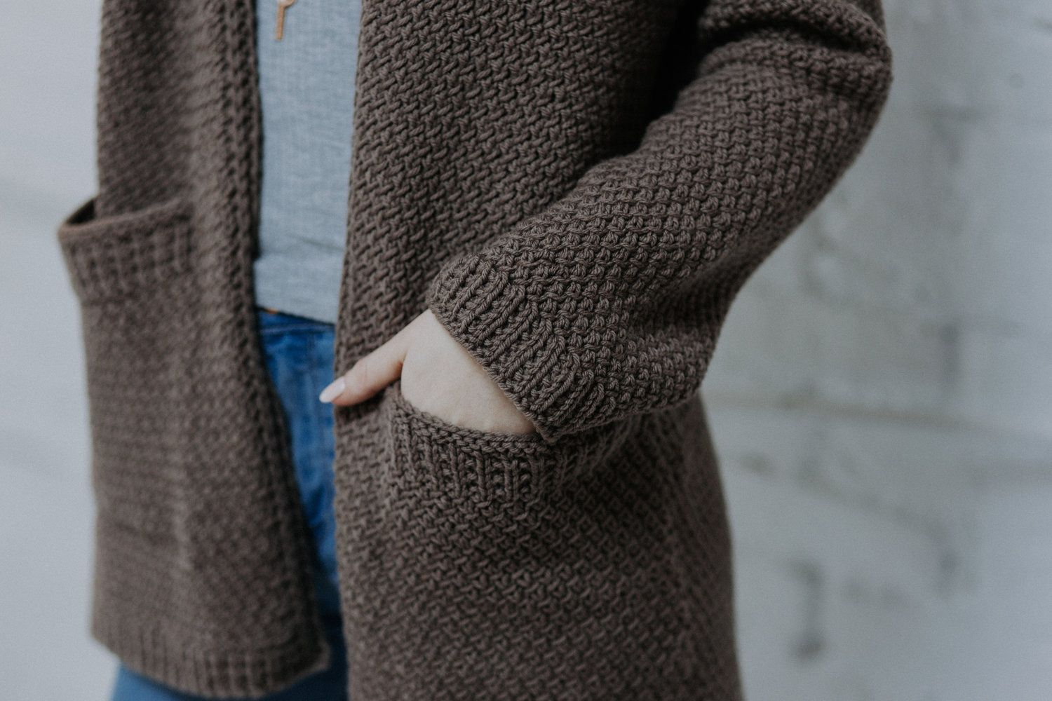 Photo of Kapsel Cardigan PDF Knitting Pattern — VERY SHANNON