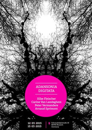 #37b ADANSONIA DIGITATA  ADANSONIA DIGITATA #37b Artists: Silke Fleischer, Carine Van Landeghem, Arnaud Sprimont, Peter Vermandere Location: Schraudolphstraße 16, Munich 12.03.2015...  - - X