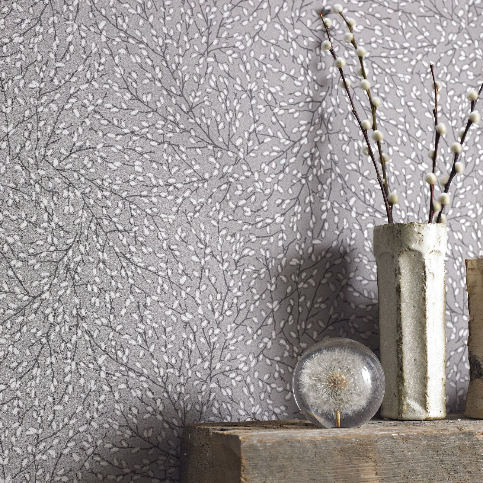 Graham Brown Element Willow Wallpaper | EBay