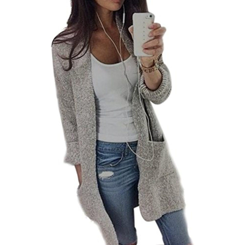 Women Cardigan ,BeautyVan Beautiful Design Womens Lady Casual Knit ...