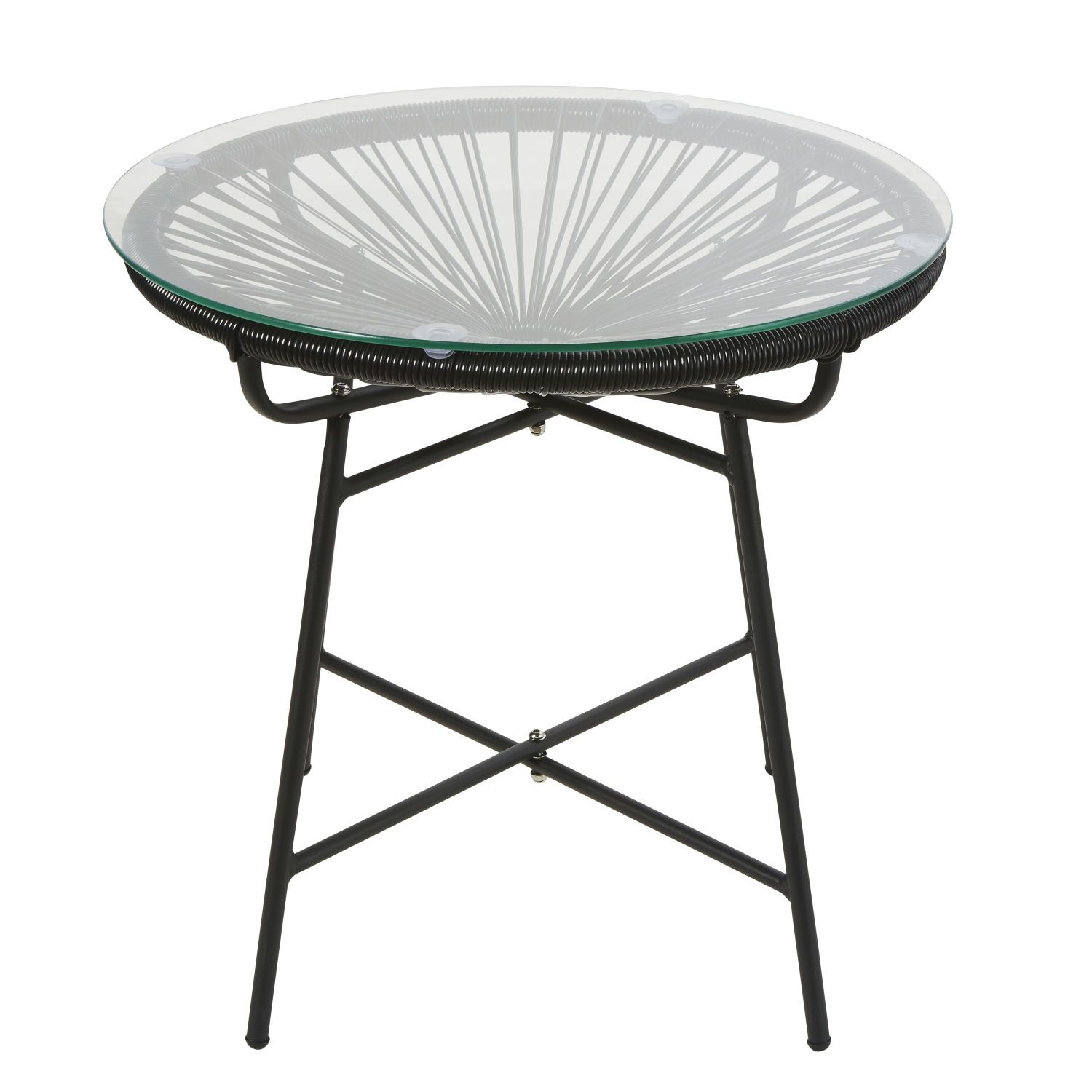 Black Resin And Glass Garden Coffee Table Garden Coffee Table Coffee Table Garden Table And Chairs