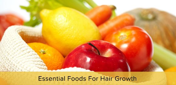 Whether you're trying to recover your hair from a misguided cut or simply want longer hair— Try these foods for #HairGrowth.