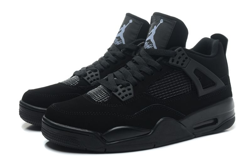Air Jordan 4 Retro Black Cat Black BlackLight Graphite
