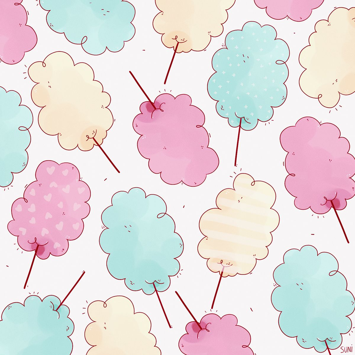 I love cotton candy
