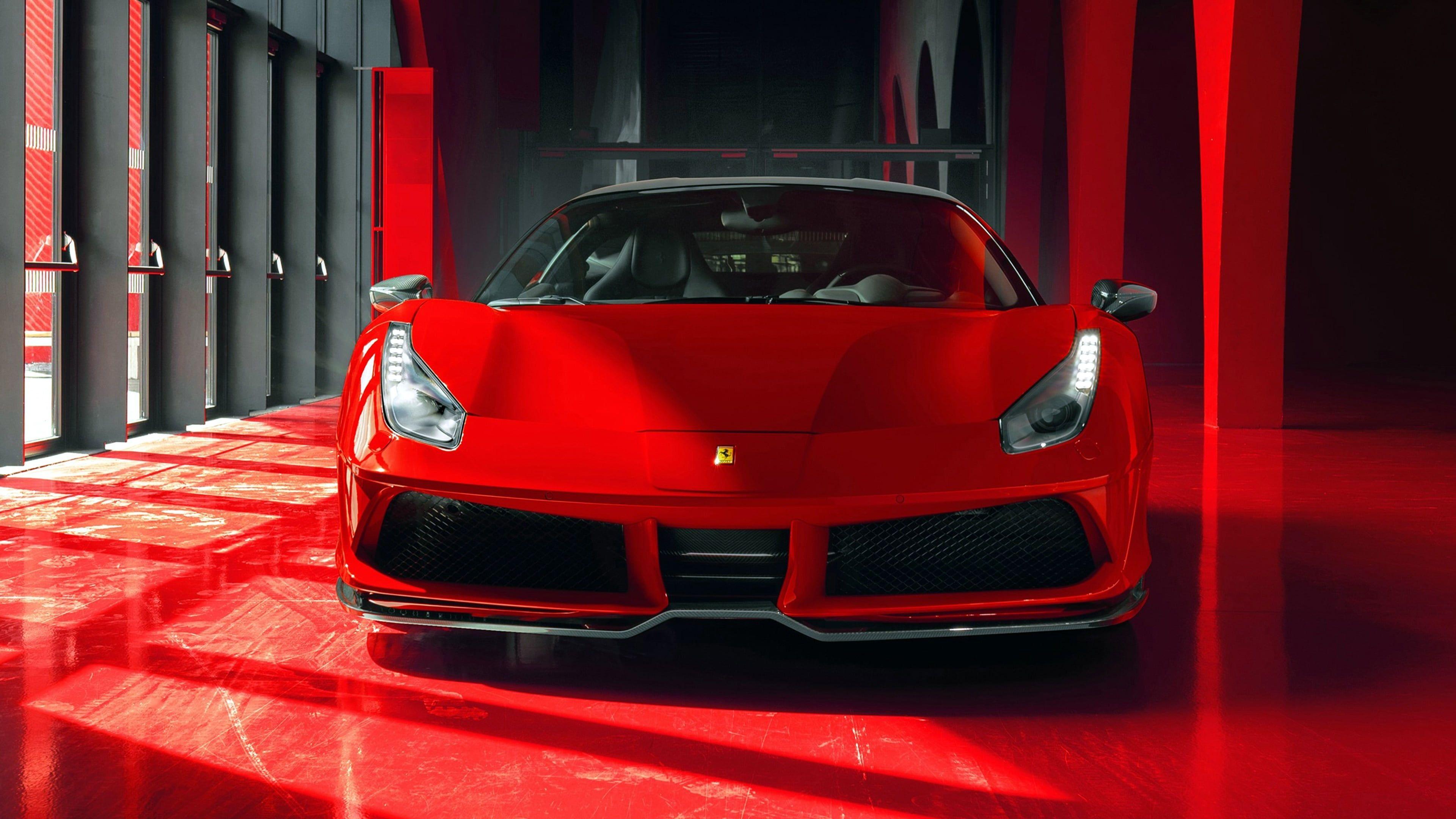 Red Car Car Ferrari 488 Gtb Ferrari Vehicle Luxury Vehicle Sports Car Cool 2018 Supercar 4k Wallpaper Hdwallp In 2020 Ferrari 488 Ferrari Cool Wallpapers Cars
