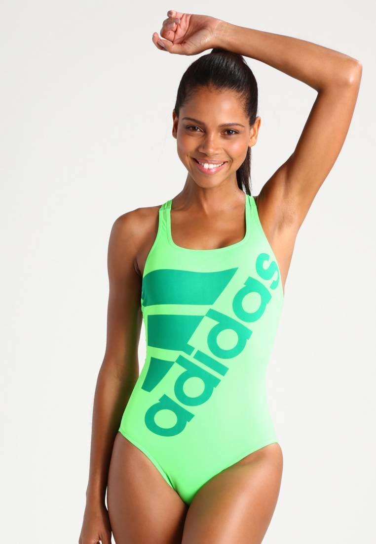 311db62f5f3e adidas Performance. Maillot de bain - solar green green. Composition 100%