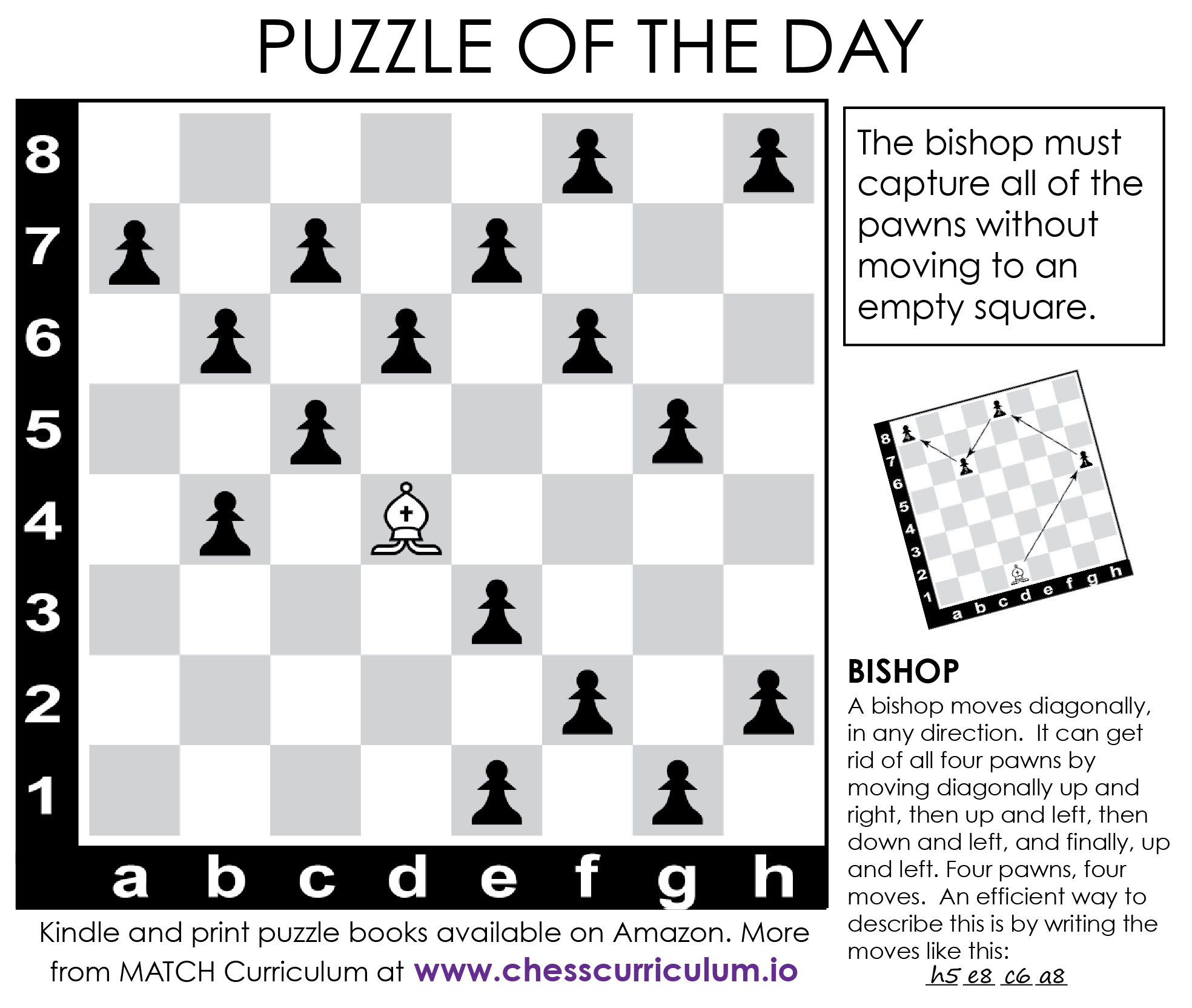 Bishop Chess Puzzle More Puzzles On The Blog And Our Fb