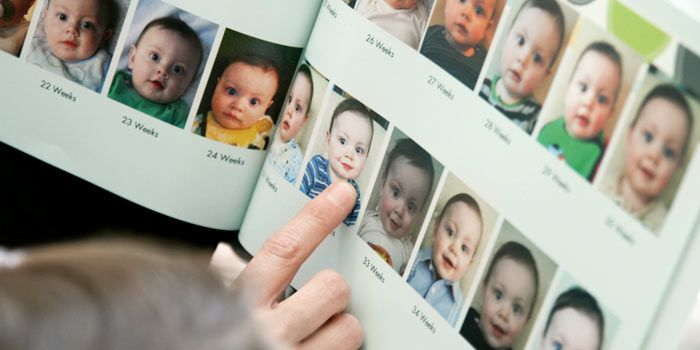 Baby Book Ideas - take a photo once a week to see how baby changes ...