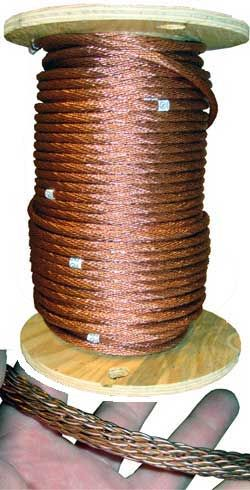 p> Slate Roof Warehouse #1 Copper Lightning Rod Conductor at $1.88 ...