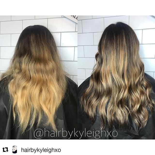 balayage highlight makeover done by kyleigh https://www ...