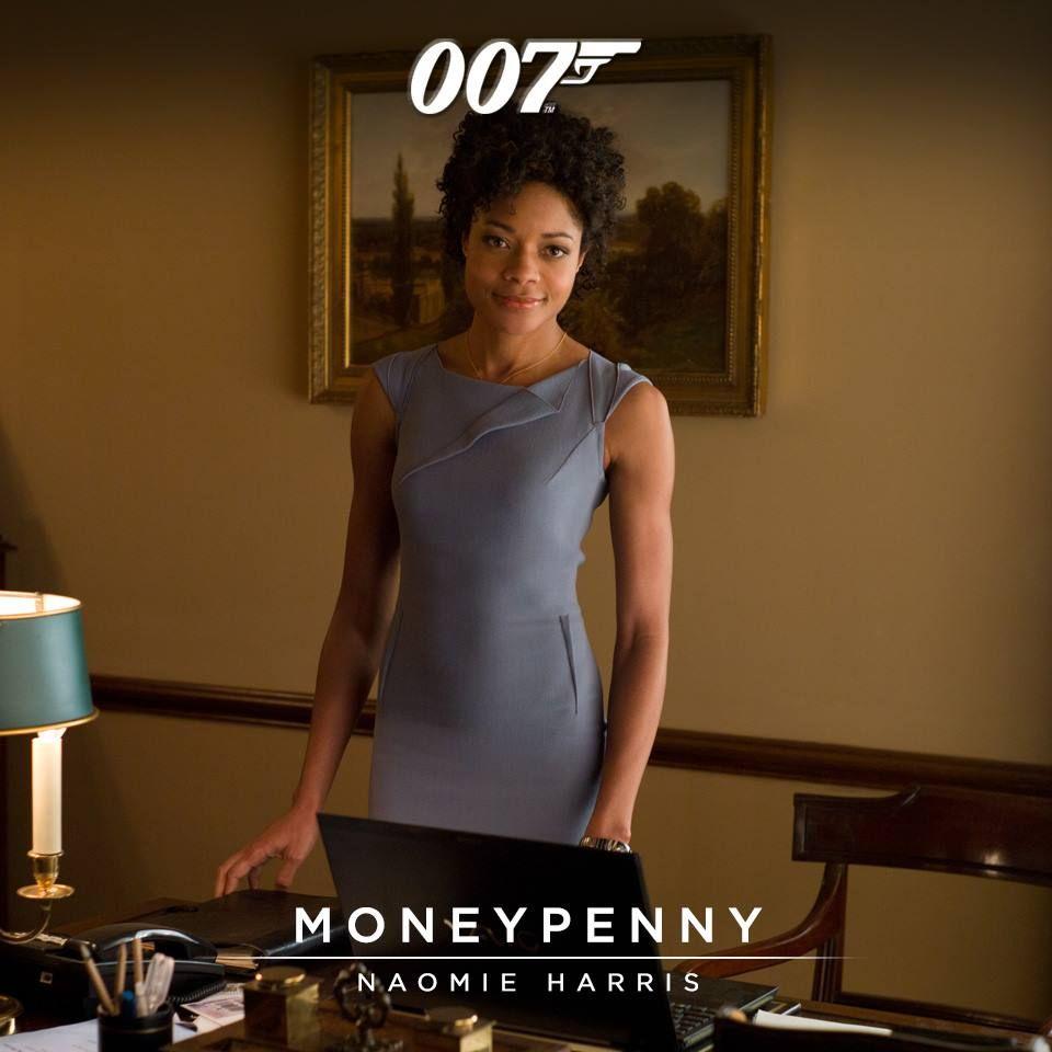 Moneypenny portrayed by naomie harris bond films james bond