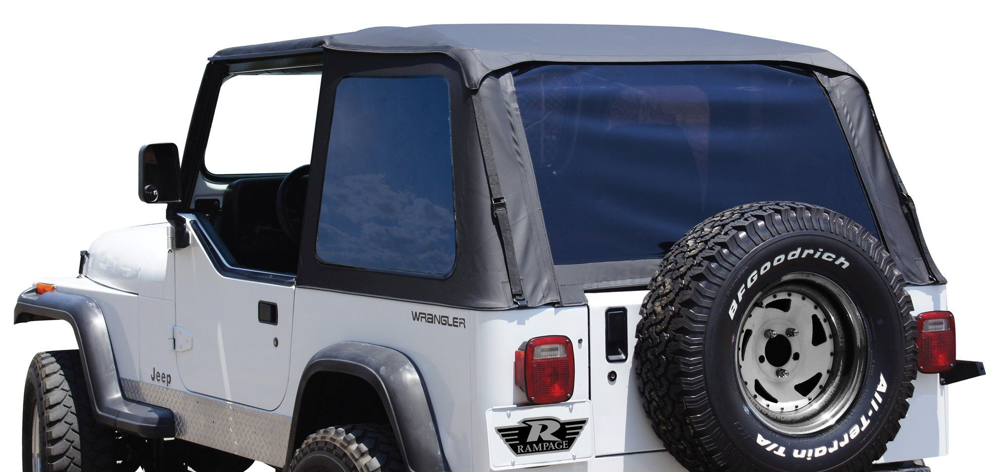 Rampage Products 109435 Trail Top Soft Top with Tinted ...