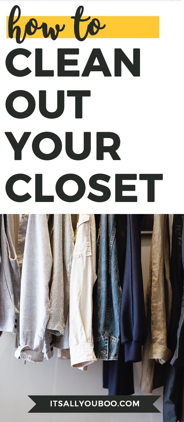 How to Clean Out Your Closet The Ultimate Guide