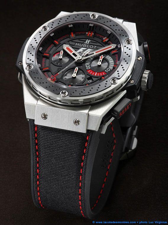 la cote des montres shooting de la montre hublot f1 king power la montre officielle de la. Black Bedroom Furniture Sets. Home Design Ideas