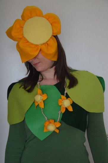 DIY Blumenkostüm   Fasching, Blumen, Karneval