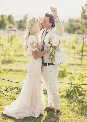 Bohemian Utah Wedding | Marry Me | Pinterest | Hochzeitskleider