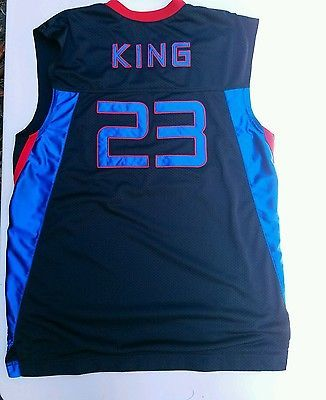 size 40 5e6d5 c6142 Nike Lebron James King United Ballers Sewn Stitched Jersey ...