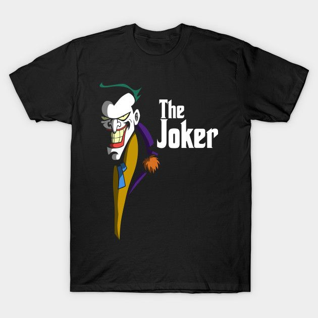c61b8df70 THE JOKEFATHER Joker Godfather Parody T-Shirt | Batman Stuff | Joker ...
