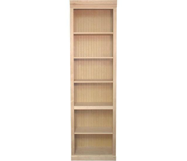 Maple Bookcase 4 Shelf This Maple Bookcase Features 4 Adjustable Shelves And 1 Fixed Shelf Our Bookcases Come In Many Shelves Bookcase Adjustable Shelving