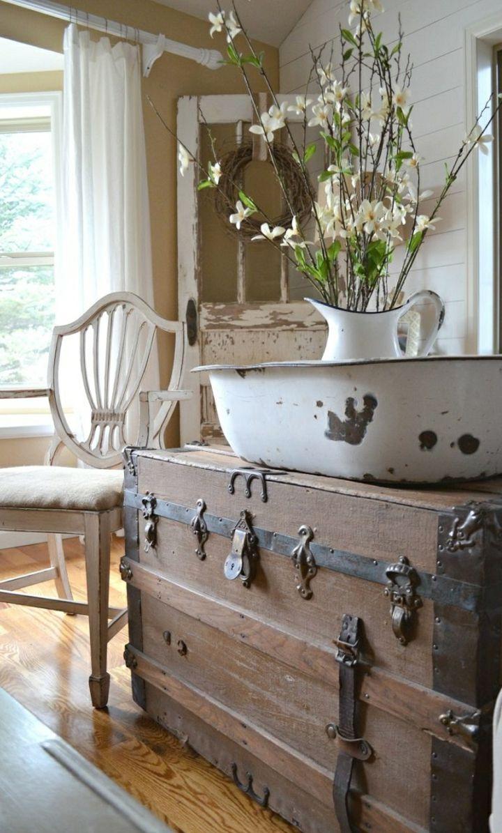 Muebles vintage ideas incre bles para cualquier espacio for Decoraciones rusticas para el hogar
