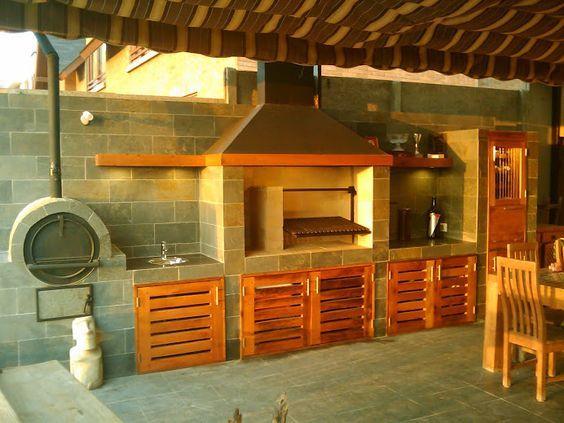 Pergolas y quinchos kincho pinterest quinchos para for Tipos de terrazas de madera