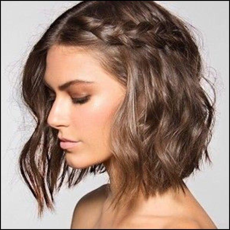 Flechtfrisuren Kurzes Haar
