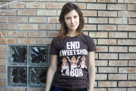 End Sweetshop Labor - BustedTees lady!