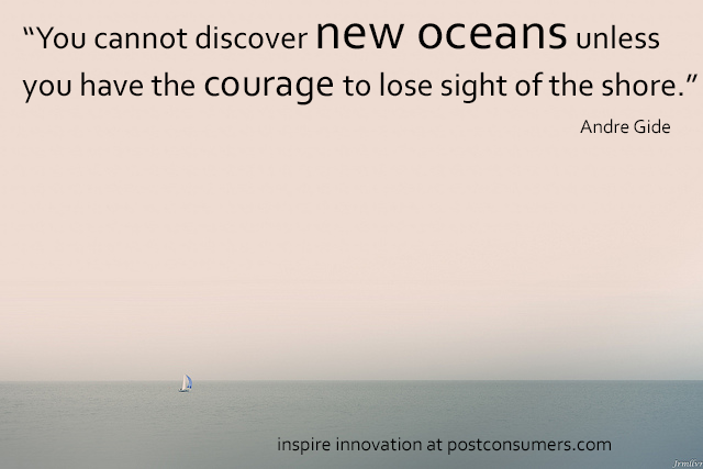 Find the courage to drive #innovation and #technology