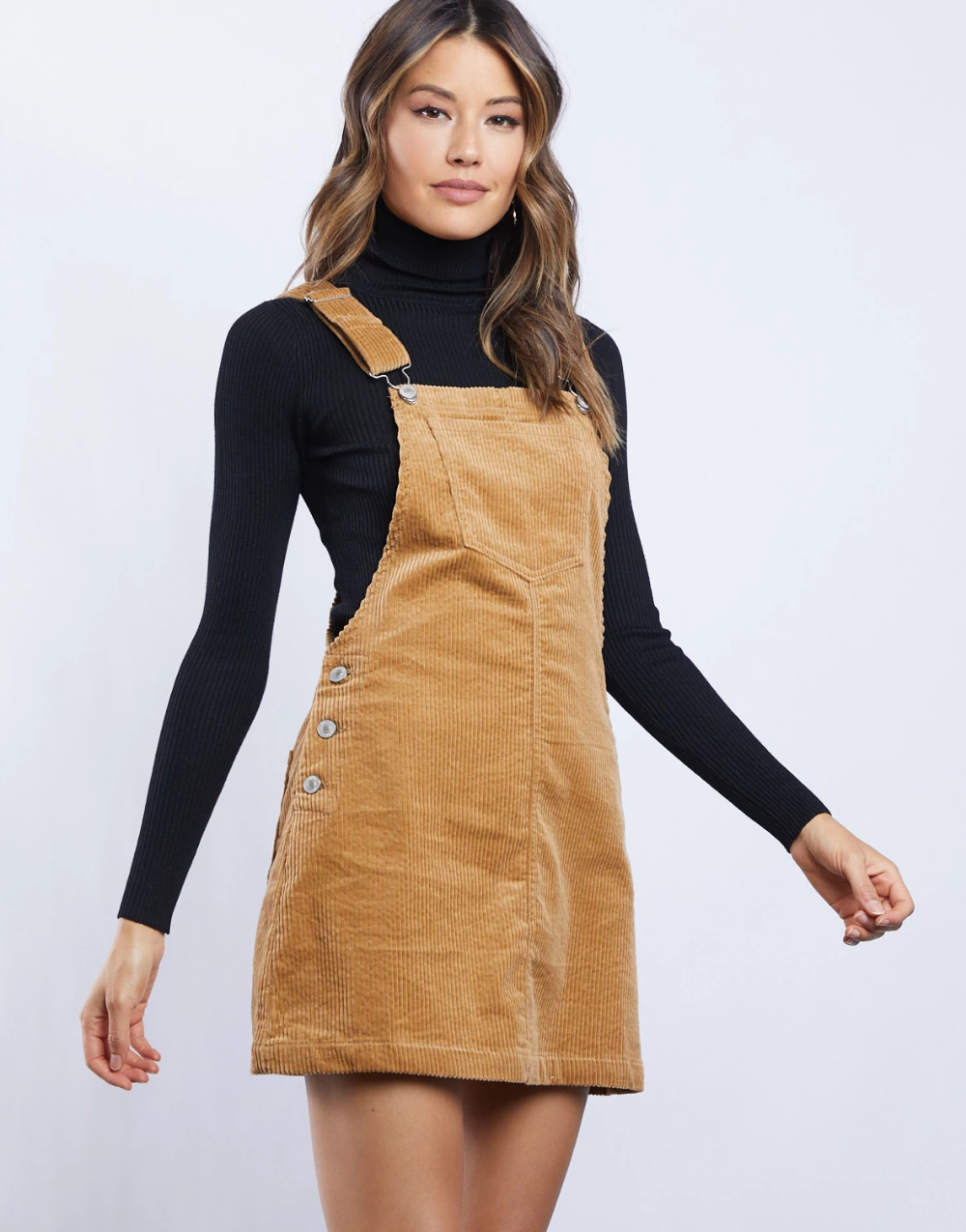 15++ Corduroy dress overall information