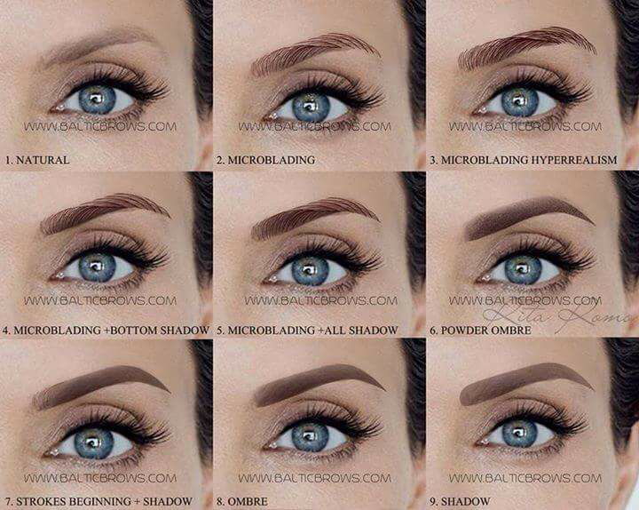 Image result for Microblading Eyebrows Healing Process