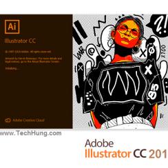 Adobe illustrator CC 2019 Free-www techhung com   Corel Draw
