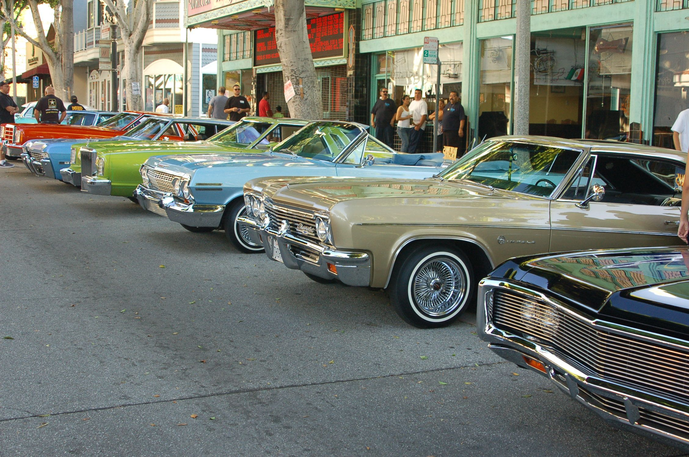 """IMPERIALS Whittier Car Show """"Day Of the Dead"""""""