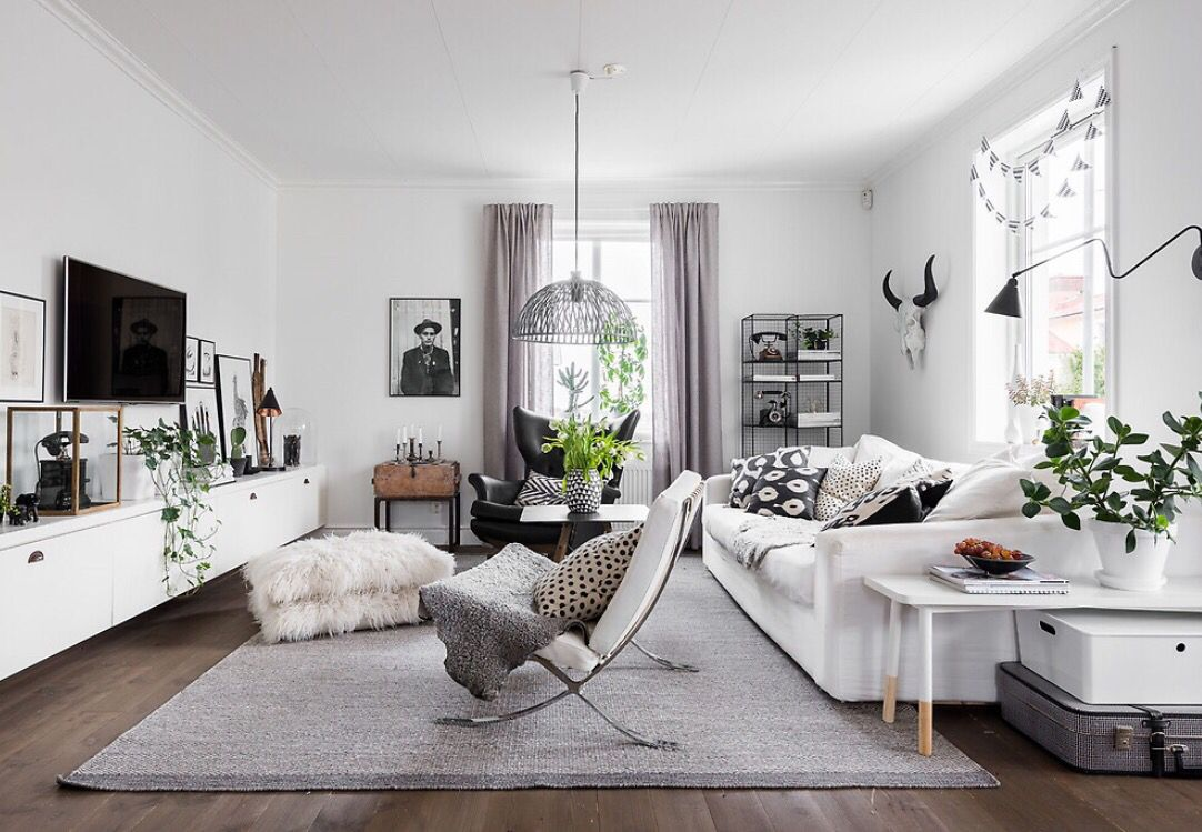 Hemnet | For the Home | Pinterest | Living rooms, Scandinavian ...