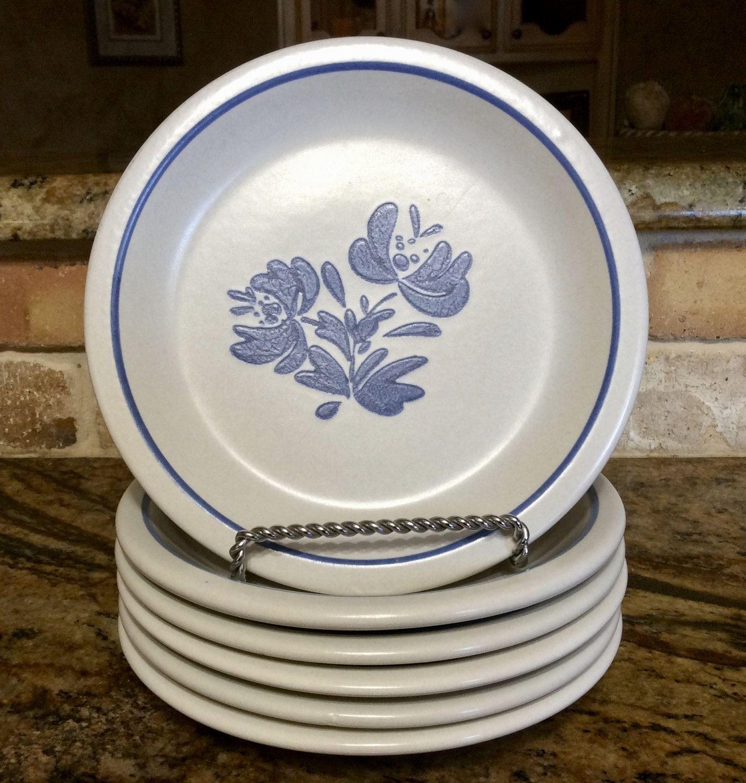 Vintage Pfaltzgraff Yorktowne Salad Dessert Plates