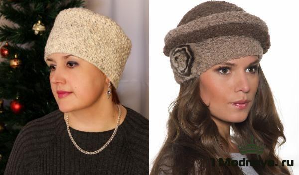 шапки для женщин после 50 лет фото модных моделей 1modnayaru