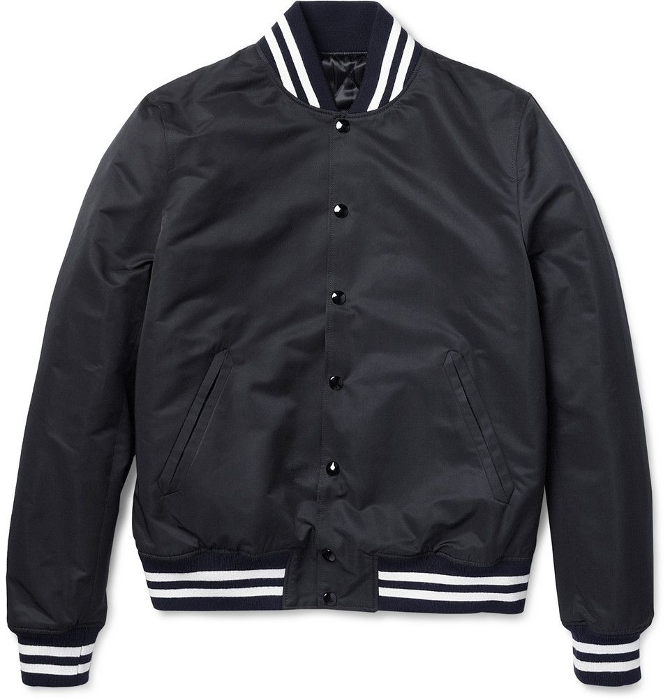 c61f1004f Sandro Slim-Fit Quilted Varsity Jacket | MR PORTER | Bits & Pieces ...