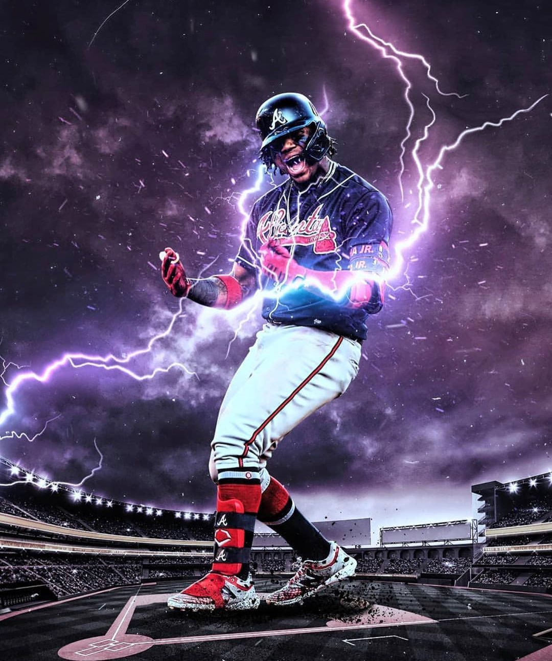 89 7k Likes 1 117 Comments El Abusador Ronaldacuna13 On Instagram Thank You For Atlanta Braves Wallpaper Atlanta Braves Baseball Mlb Baseball Teams