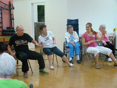 zumba  nursing home activities senior fitness elderly
