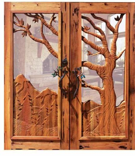 24 Hand carved wooden door designing ideas (These doors were imported by someone into InWorldz. & 2258CDJ_01 | Intarsia | Pinterest | Doors Woods and Wood carving Pezcame.Com