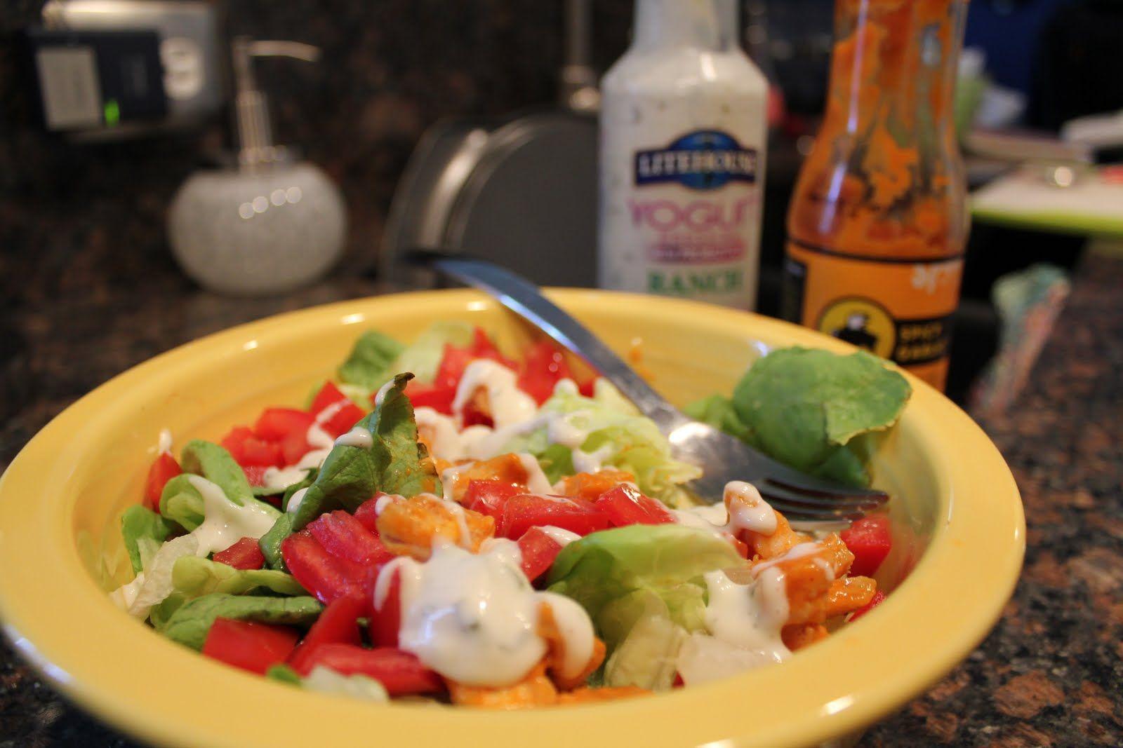 Jenny Craig Volumizing: Buffalo Chicken Salad - No Thanks to Cake