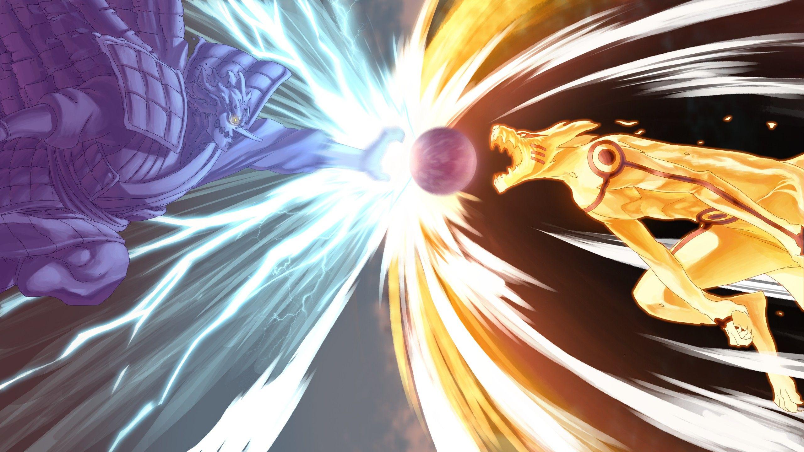 Anime 2560x1440 Anime Naruto Shippuuden Kurama Kyuubi Susanoo