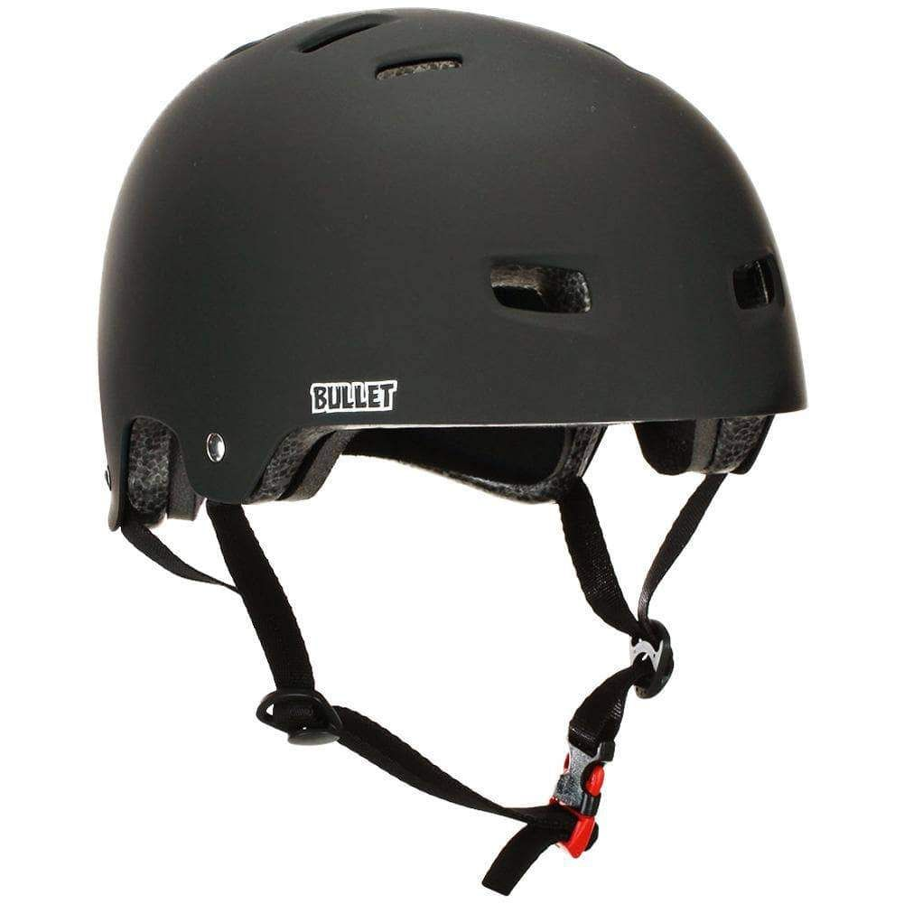 Bullet Adults Deluxe Skateboard Helmet Matt Black L Xl 58