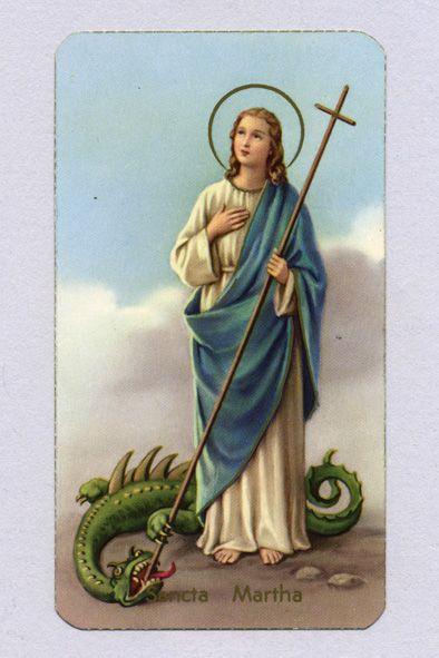 Martha Santa Marta Virgen Imágenes Religiosas Santos Católicos
