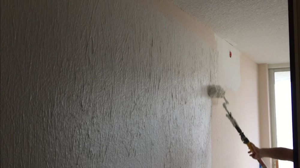 How to Skim Coat Walls Using the Paint Roller Trick