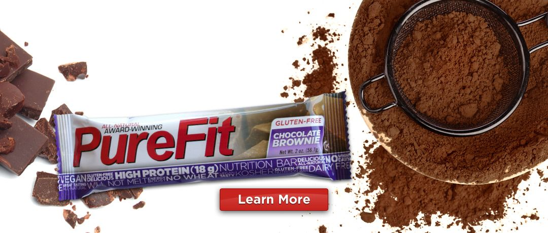PureFit Nutrition Bars - Finally, a protein bar I can eat without breaking out.