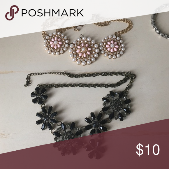 Statement necklaces! Come as a pair or ask if you would like to purchase only one! Jewelry Necklaces
